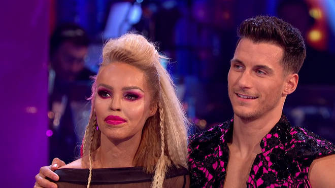 Katie Piper was visibly emotional during Saturday night's show