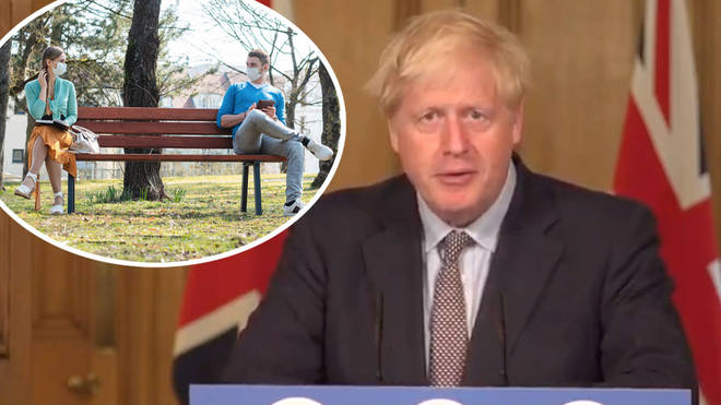 Boris Johnson addressed the nation on Wednesday afternoon