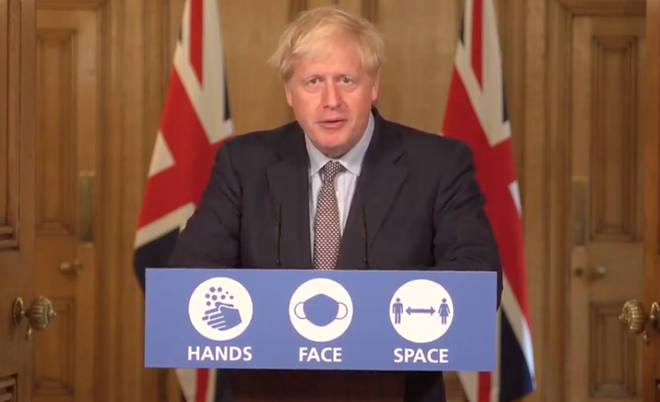 Boris Johnson confirmed that from Monday people will not be able to meet in groups of more than six
