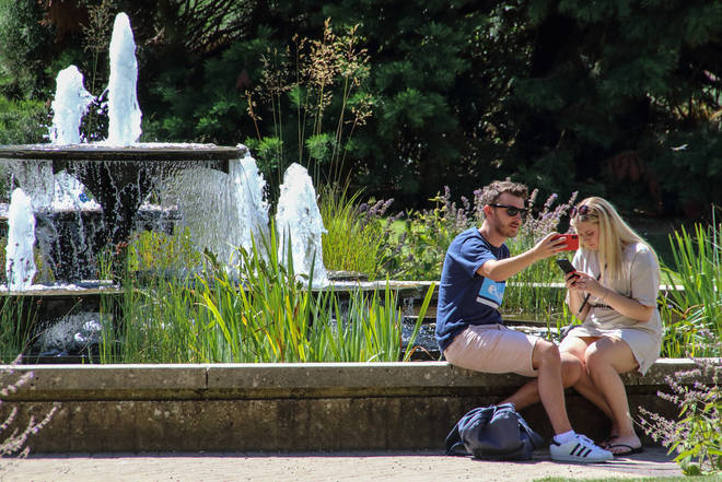 The weather is set to heat up in the UK next week