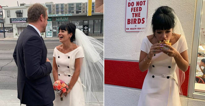 Lily Allen got married to David Harbour in Vegas