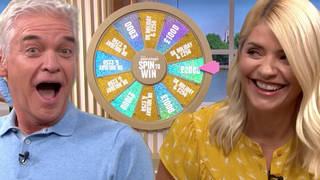 Holly Willoughby and Phillip Schofield catch man 'at it' with his wife during Spin To Win call