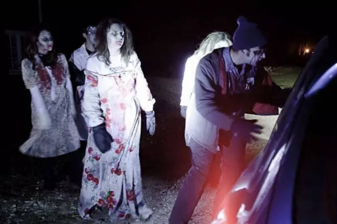 The UK's first drive-thru horror maze is in North Wales