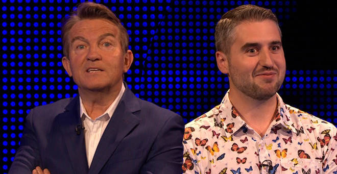 A contestant on The Chase was forced to propose
