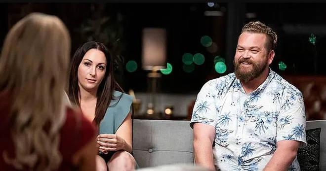 Poppy Jennings and Luke Eglin on Married at First Sight Australia