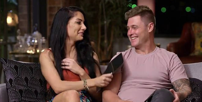 Vanessa Romito and Chris Nicholls on Married at First Sight Australia