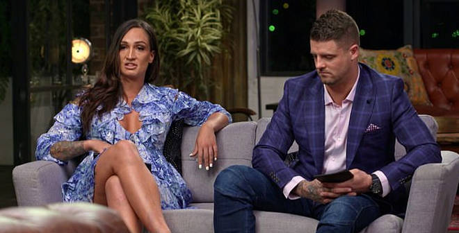 Hayley Vernon and David Cannon on Married at First Sight Australia