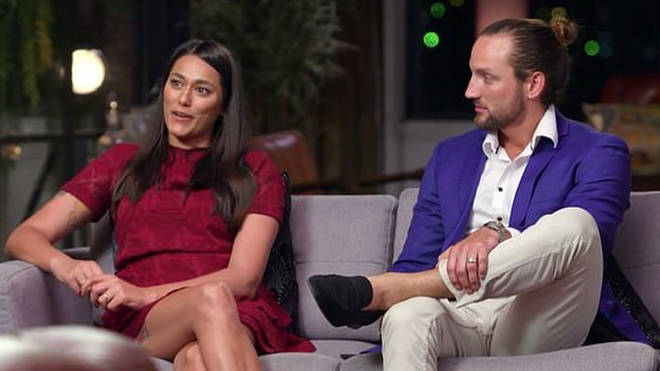 Connie Crayden and Jonethen Musulin on Married at First Sight Australia