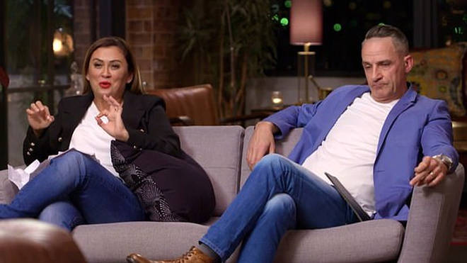 Mishel Karen and Steve Burley on Married at First Sight Australia