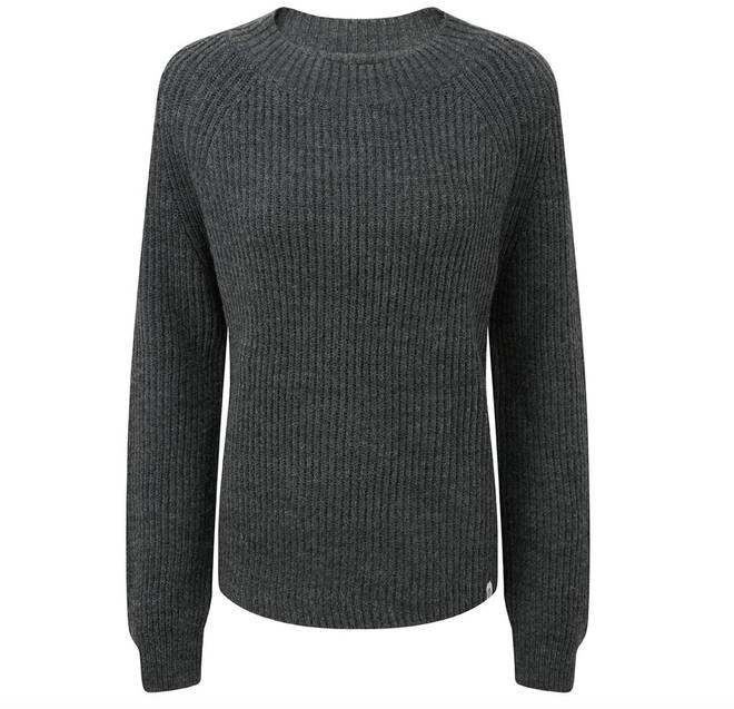 This chunky ribbed jumper is a wardrobe must-have for autumn