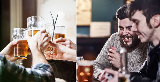 The pub has made the decision to ban younger customers (stock images)