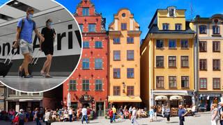 Sweden has been added to the travel corridor list