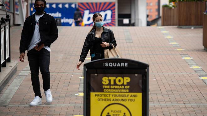 Birmingham has seen a rise in coronavirus cases