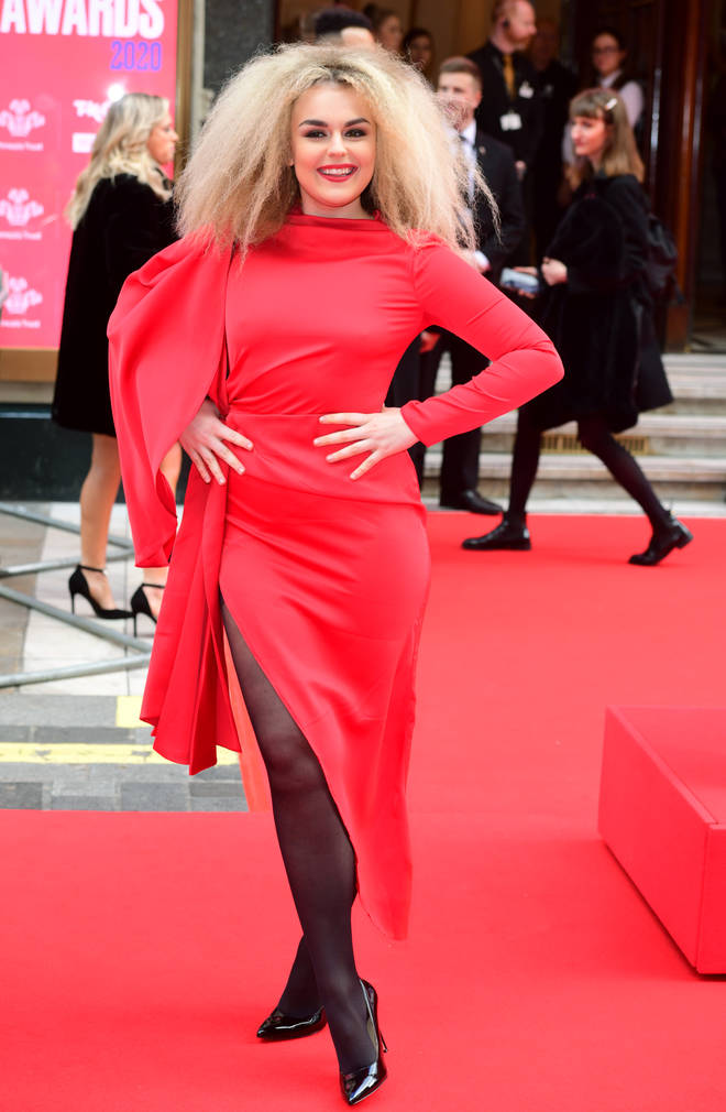 Tallia Storm is now a regular on red carpets
