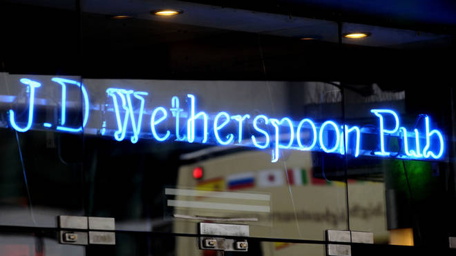 Some Wetherspoons staff have tested positive for Covid-19