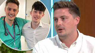 Dr Alex George says his 'world ended' the moment he found out brother, 19, had taken his own life