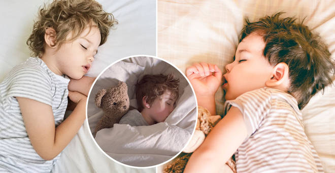 What time should you put your child to bed? This chart may have the answer... (stock images)