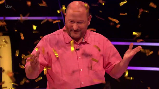 Donald Fear became the sixth person to ever win the £1million jackpot