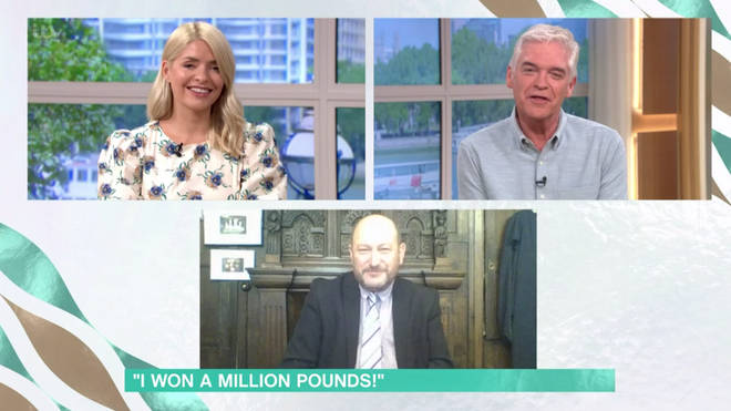 Donald told Holly and Phil he knew the answer to the £1million question 'instantly'