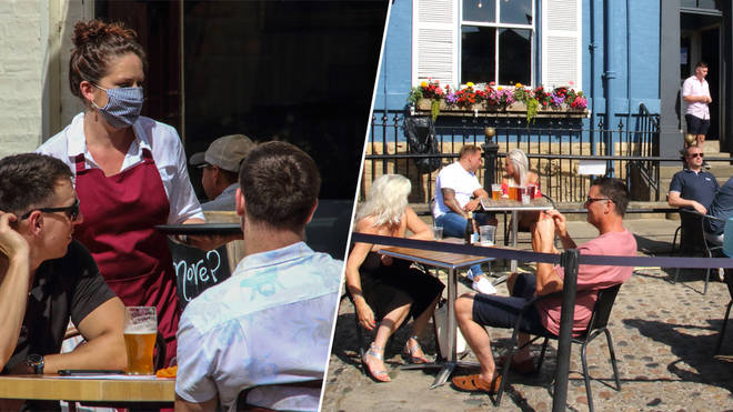 New rules are coming into force for restaurants and pubs from Friday