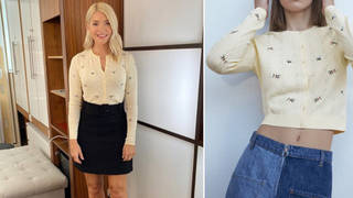 Holly Willoughby's outfit is from the high street today