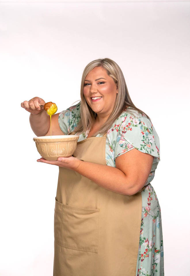 Laura from Great British Bake Off
