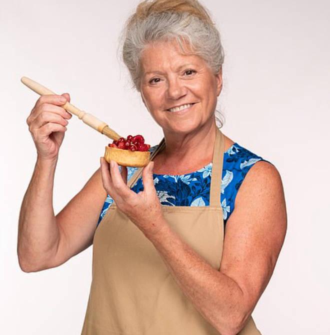 Linda from Great British Bake Off