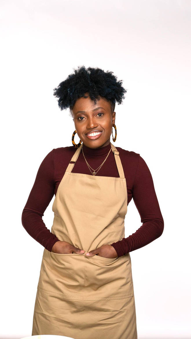 Loriea from Great British Bake Off