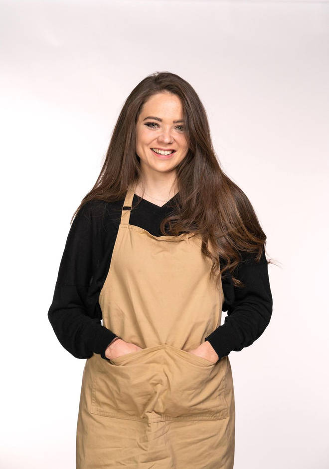 Lottie from Great British Bake Off
