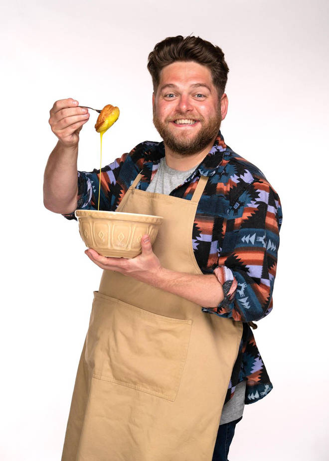 Mark from Great British Bake Off