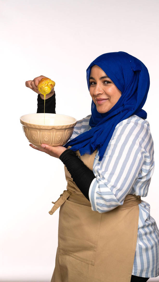 Sura from The Great British Bake Off