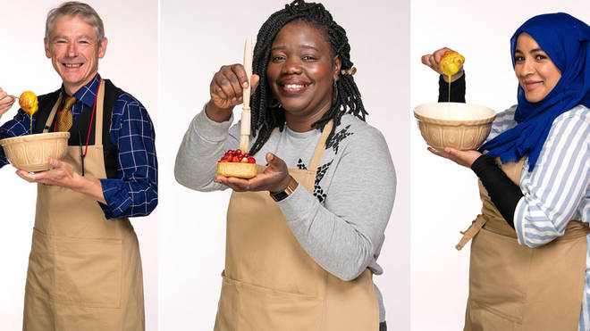 The GBBO line up has been revealed