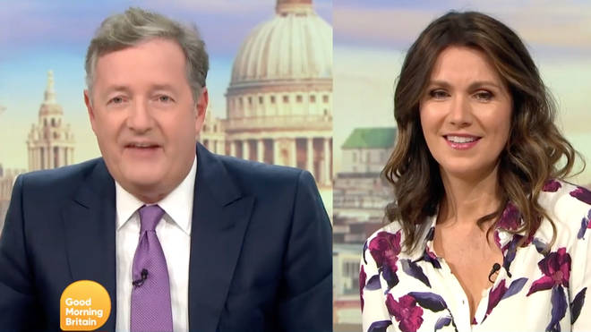 Piers Morgan joked he was 'hurt' by the book being thrown out