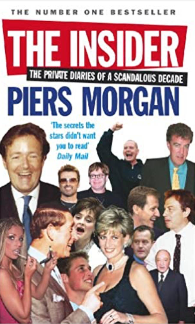 Piers Morgan spotted his 2005 book, The Insider, had been thrown out