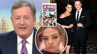 Piers Morgan's rage as Lisa Armstrong throws out his book with ex Ant McPartlin's unwanted belongings