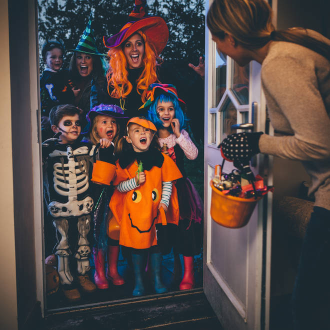 There are some health risks around trick or treating amid the pandemic
