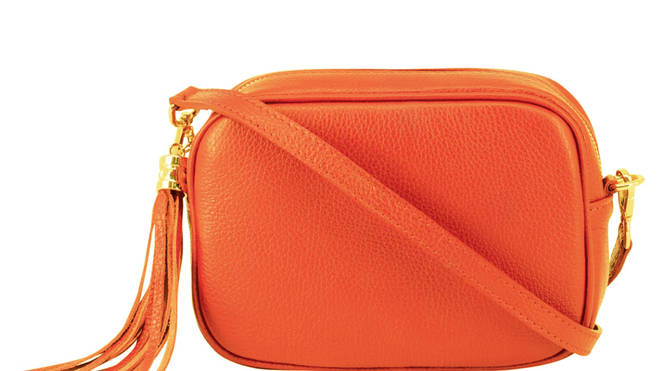 Leather Lady Cross Body Bag by LRM, £65.00