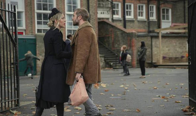 Rory Keenan plays Katherine's ex