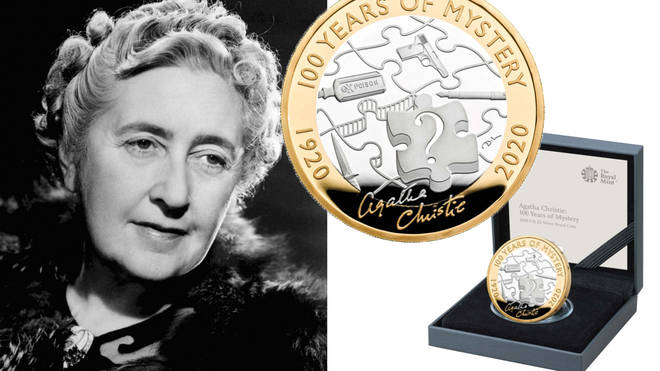 Royal Mint release Agatha Christie £2 to celebrate 100 years of murder mysteries