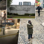 Coronation Street was forced to close down the set