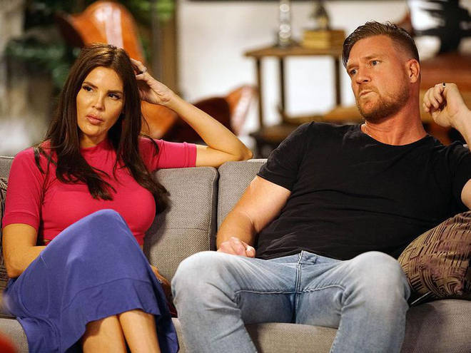 Tracey Jewel was partnered with Dean Wells in MAFS
