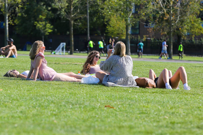 Temperatures hit 30C on Tuesday