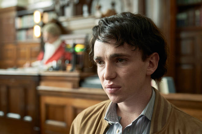 Laurie Kynaston plays Carl Stotter in ITV's Des