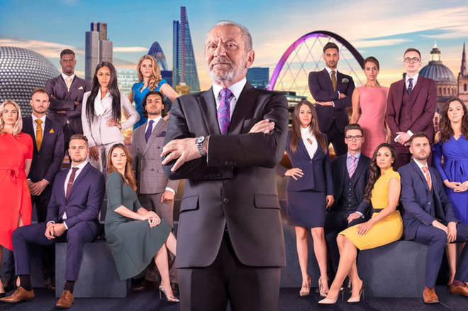 Lord Alan Sugar and his 2018 candidates