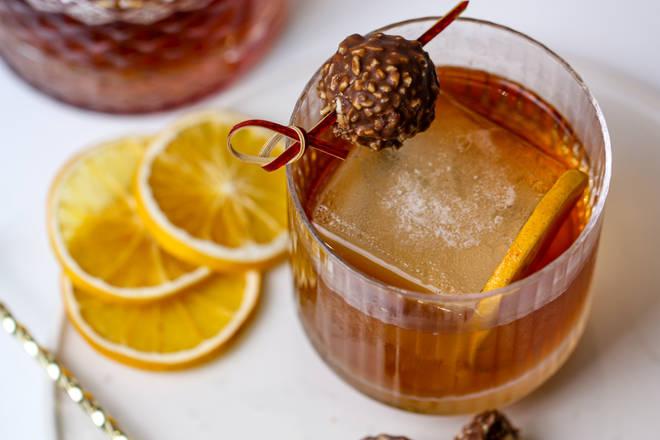 Ferrero Rocher in a DRINK? Yes please!