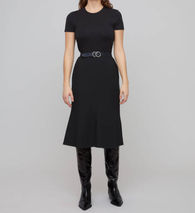 Holly Willoughby's skirt is in the sale from Jigsaw