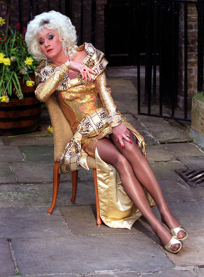 Lily Savage presenter Blankety Blank in 1997