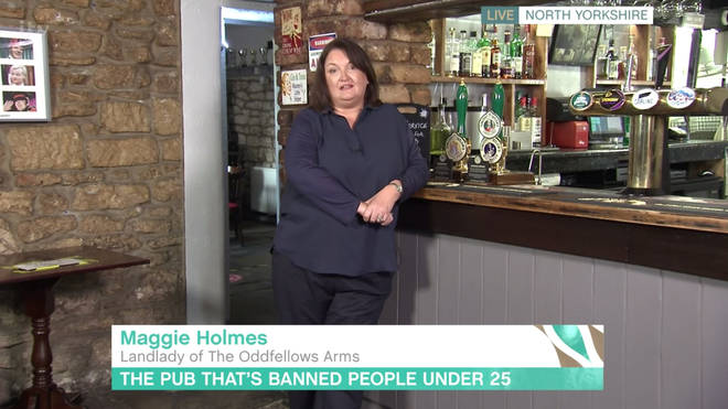 Maggie Holmes appeared on This Morning today