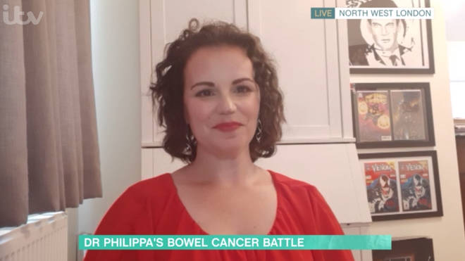 This Morning's Dr Philippa said she'll 'never forget' the moment she saw the 'mass' on the can