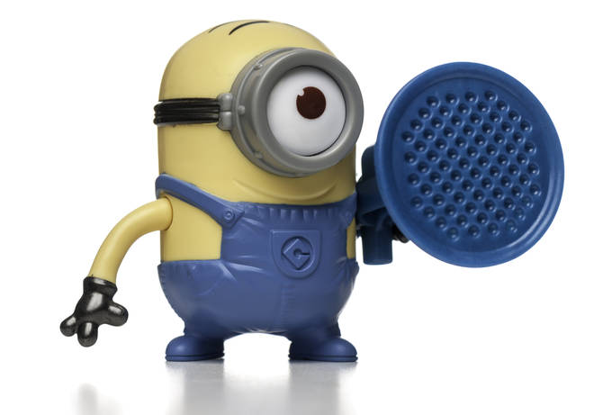 Minions toy, McDonald's Happy Meal